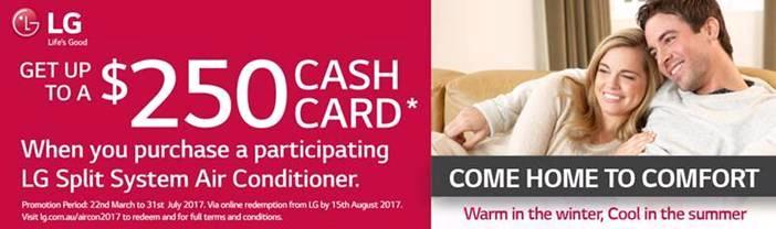 LG Wallsplit Cash Card 2017