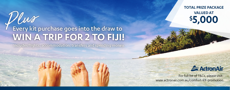 ActronAir – Win a Trip to Fiji
